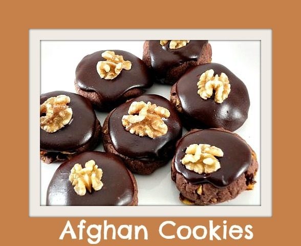Back to Basics - Chocolate Afghans