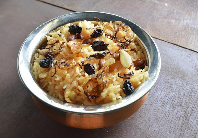 Saffron Rice | Saffron Flavored Pulao | Lunch Box Recipe