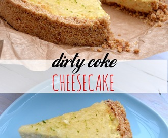 No Bake Dirty Coke Cheesecake