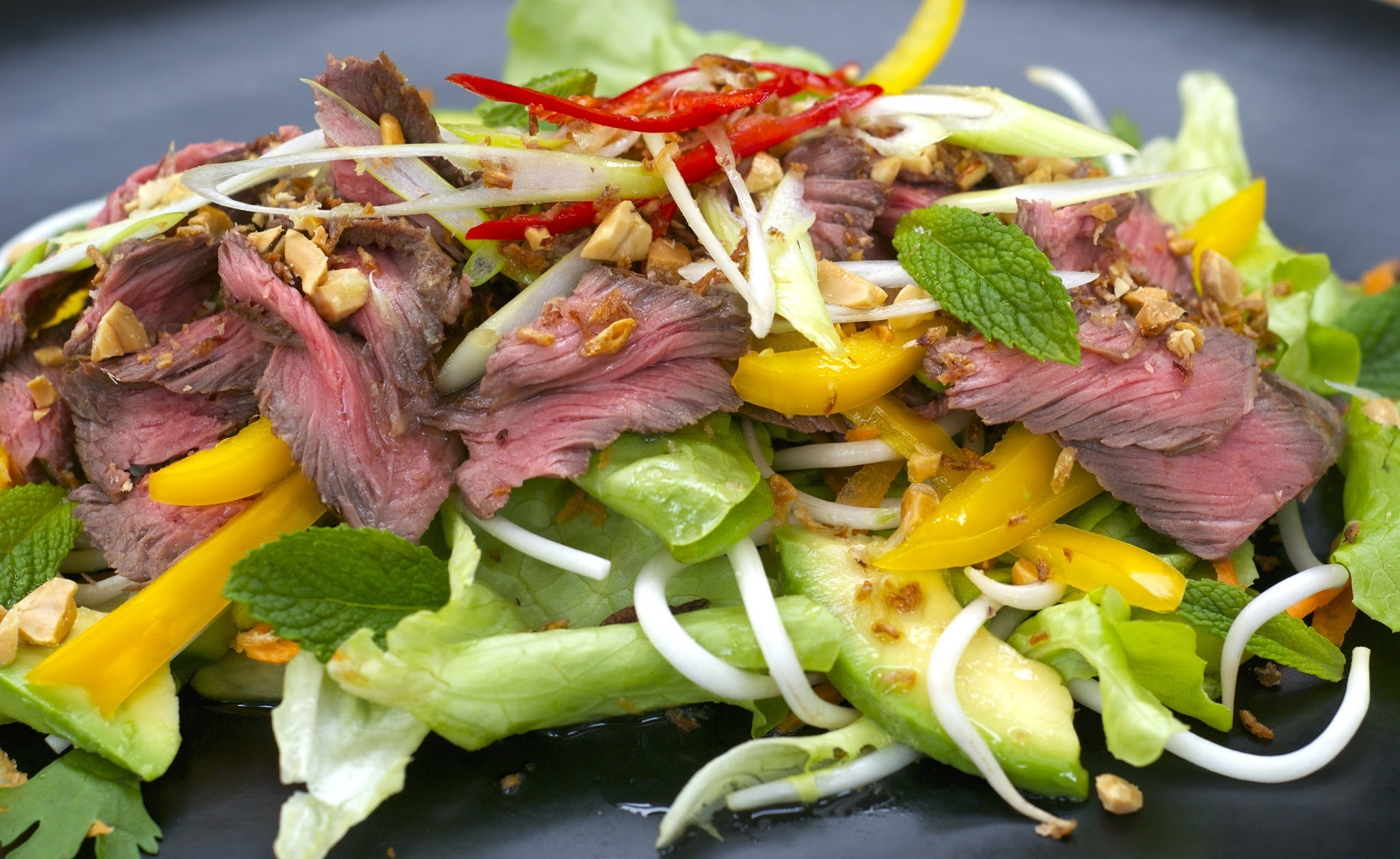 beef salad with thai dressing