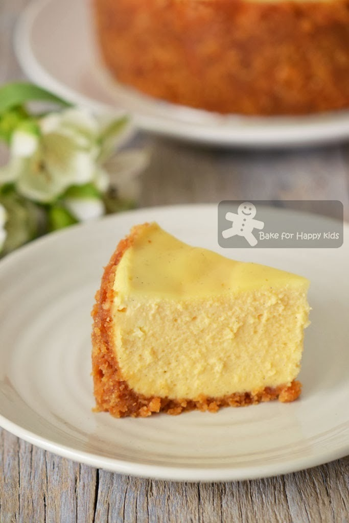 Double-Baked London Cheesecake (Nigella Lawson)