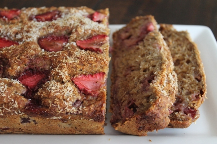 Strawberry & Banana Bread!  Gluten Free!