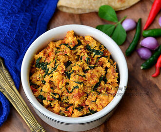 Paneer Bhurji  | Panner Bhurji with Methi Leaves | Scrambled Cottage Cheese with Fenugreek Leaves