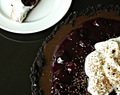 Coconut Cherry Chocolate Torte