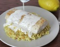 National Seafood Month: Pan-Seared Mahi Mahi With Creamy Parmesan Sauce