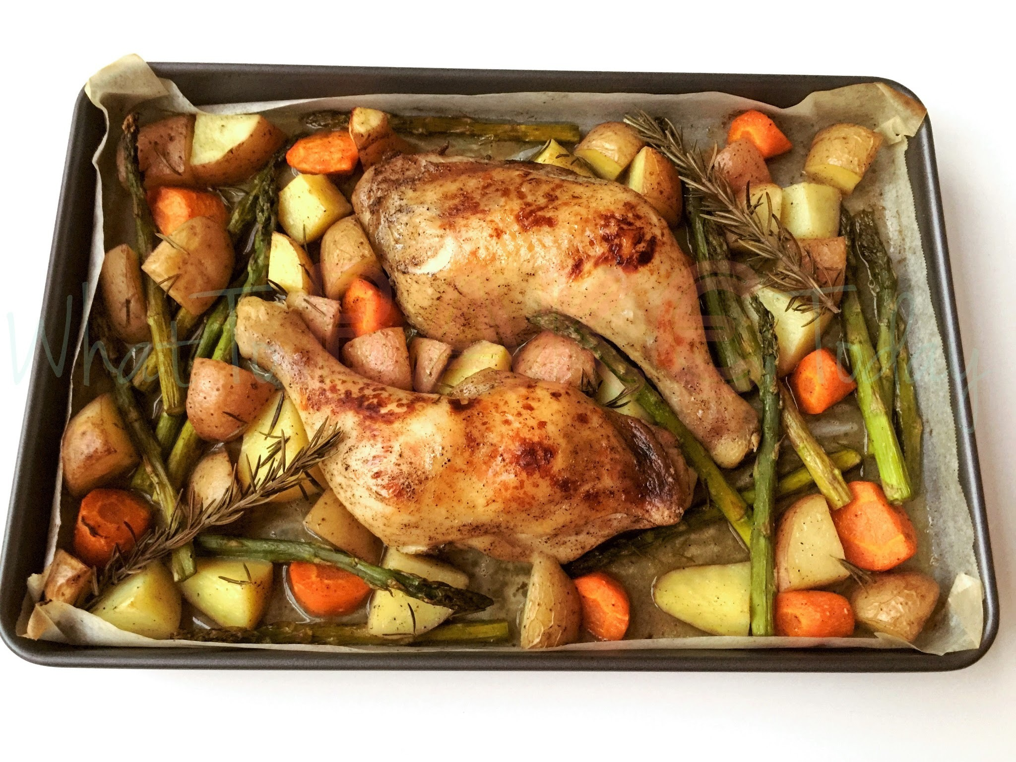One-Pan Roast Chicken and Vegetables