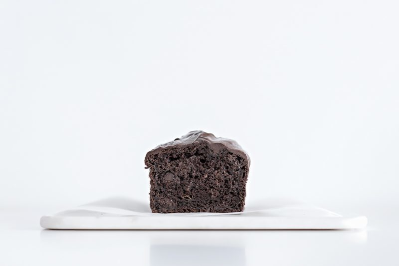 Best chocolate and banana bread (butter and oil free)