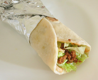 Wrap Light de Carne Picada