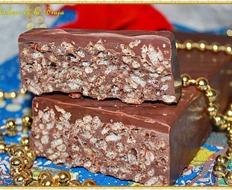"TURRÓN DE CHOCOLATE ""SUCHARD"""