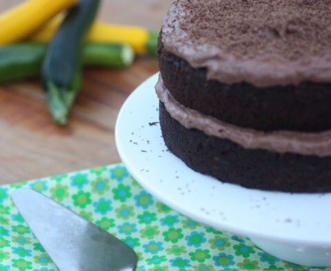 Chocolate Zucchini Fudge Cake