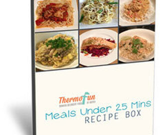 ThermoFun – February Recipe Box – Main Meals in Under 25 Mins