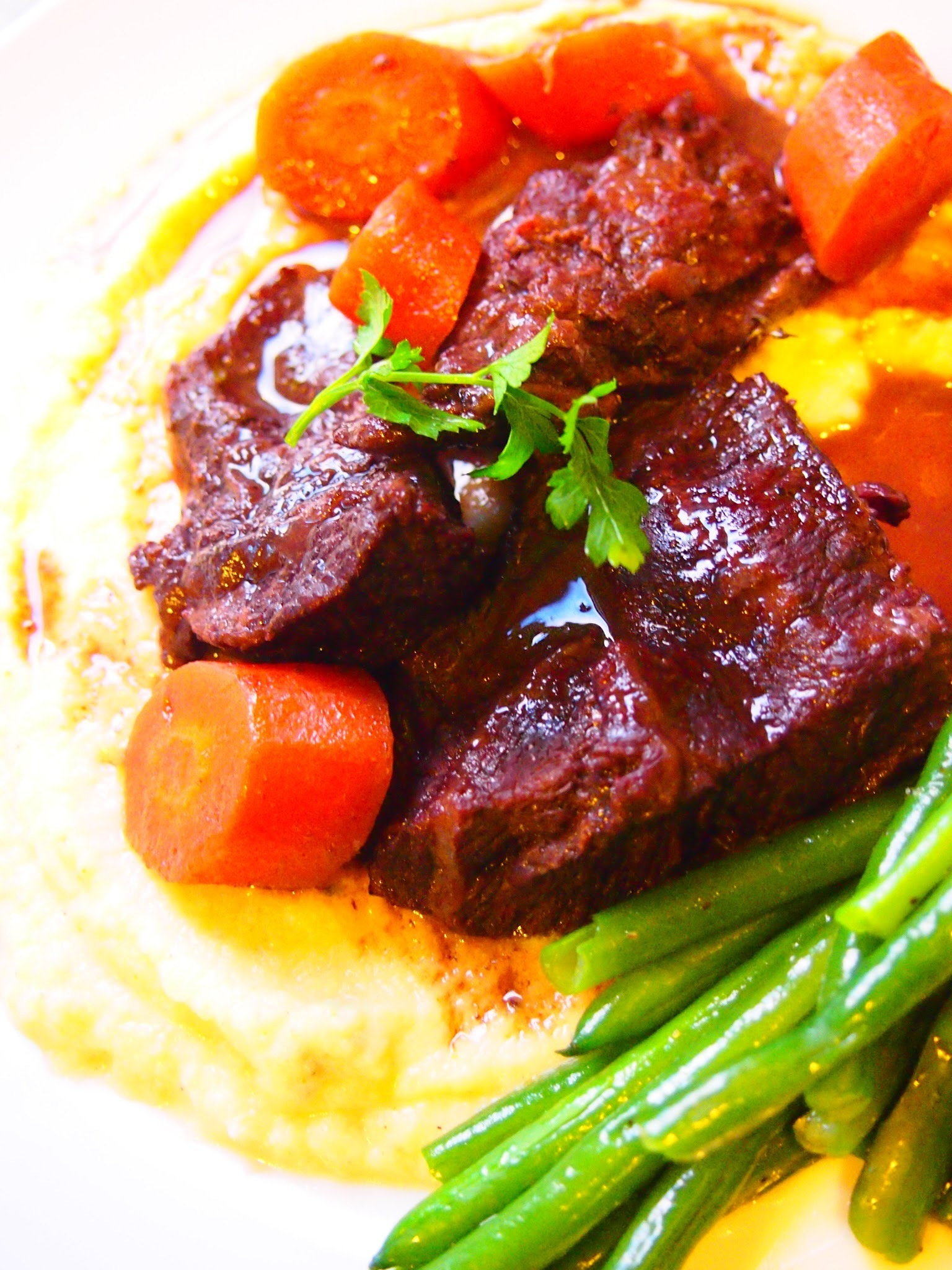 BEING CHEEKY AGAIN – Braised Beef Cheeks