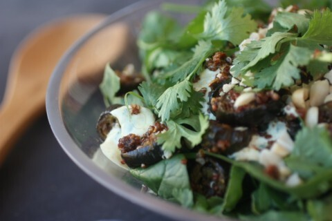 Spiced Eggplant Salad, inspired by Ripe