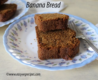 Banana Bread Recipe -- How to make Banana Bread