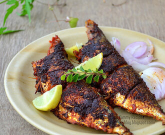 Tawa Fish Fry | Mackarel Fish Fry | Fish Fry Recipe