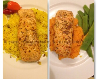 Salmon & Lemon Fried Rice