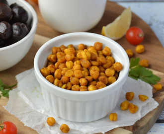 Pois chiches grillés #vegan #glutenfree