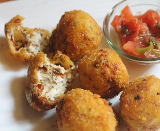 Crispy Cheese Balls Recipe - Paneer & Cheese Balls Recipe