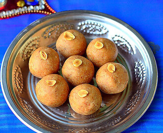 Easy Peanut Ladoo Recipe|Groundnut Laddu Recipe –Ladoo Varieties