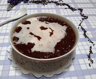 红糯米粥 (Black Glutinous Rice Dessert/Bee Koh Moi)