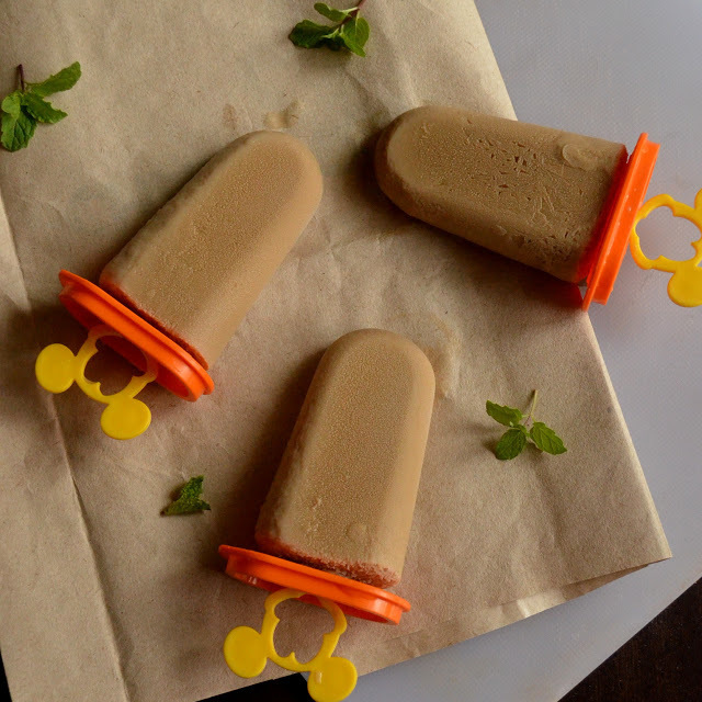 Coffee Popsicles | Vietnamese Coffee Popsicles