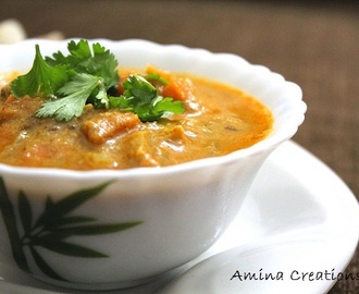 RESTAURANT STYLE VEGETABLE KHURMA