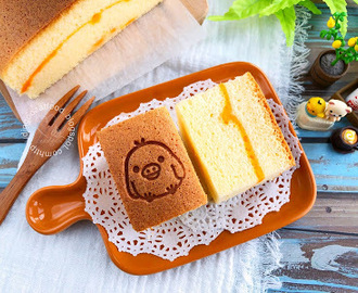 Cheese Sponge Cake aka Traditional Pillow Cheesecake 奶酪海绵鸡蛋糕 [枕头蛋糕]