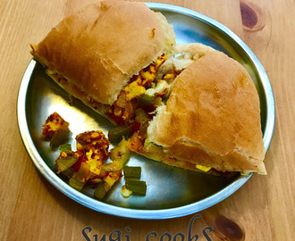 Quick Paneer Cheese Sandwich Buns