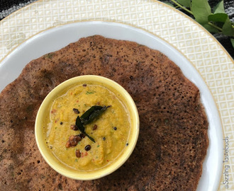 B for Black Rice Adai | Kavuni Arsi Adai | Vegan and Gluten Free
