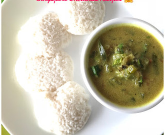 Chettinad Pudalangaai (புடலங்காய்) Poricha Kuzhambu/Snake Guard Kurma for Breakfast