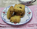 Tutti Frutti Cookies Recipe -- How to make Tutti Frutti Cookies -- Tutti Frutti Cookies at home