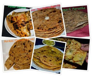 Paratha recipes Indian | Recipes for Stuffed Parantha
