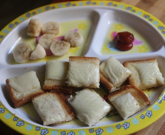 Cheese on Toast Recipe - Kids & Toddler Recipe