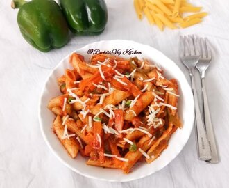 INDIAN STYLE QUICK PASTA