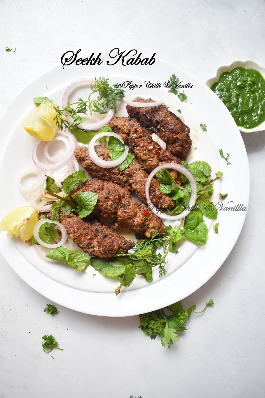 Seekh Kabab/Seekh Kebab Recipe.