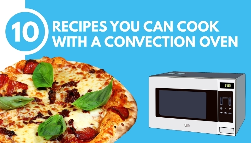 Cooking Easy Food With Convection Microwave Oven