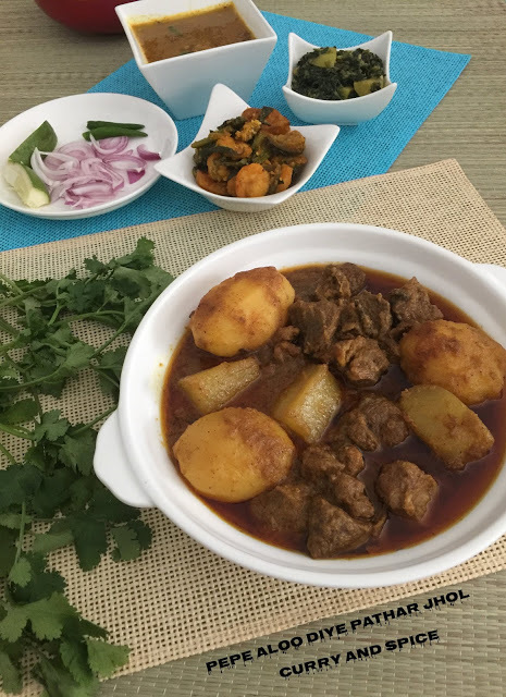 MUTTON WITH RAW PAPAYA & POTATO