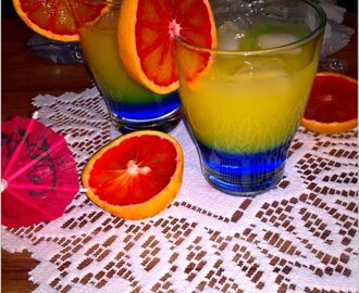 Drink blue orange (bezalkoholowy)