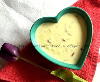 Rice Kheer/ Indian Rice Pudding