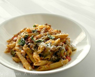 Mexican Jumping Bean Pasta....because sometimes you need a little help.