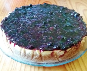 Cheesecake de Frutos Vermelhos (no forno)
