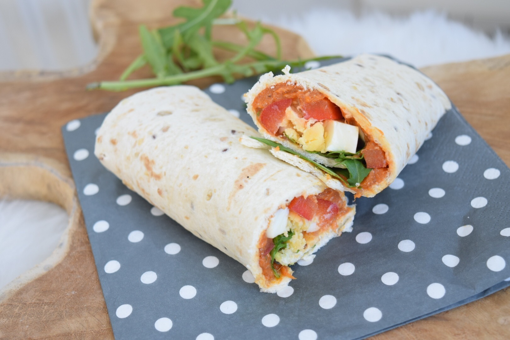 ❤️ Lunch Wraps gevuld met Filet American