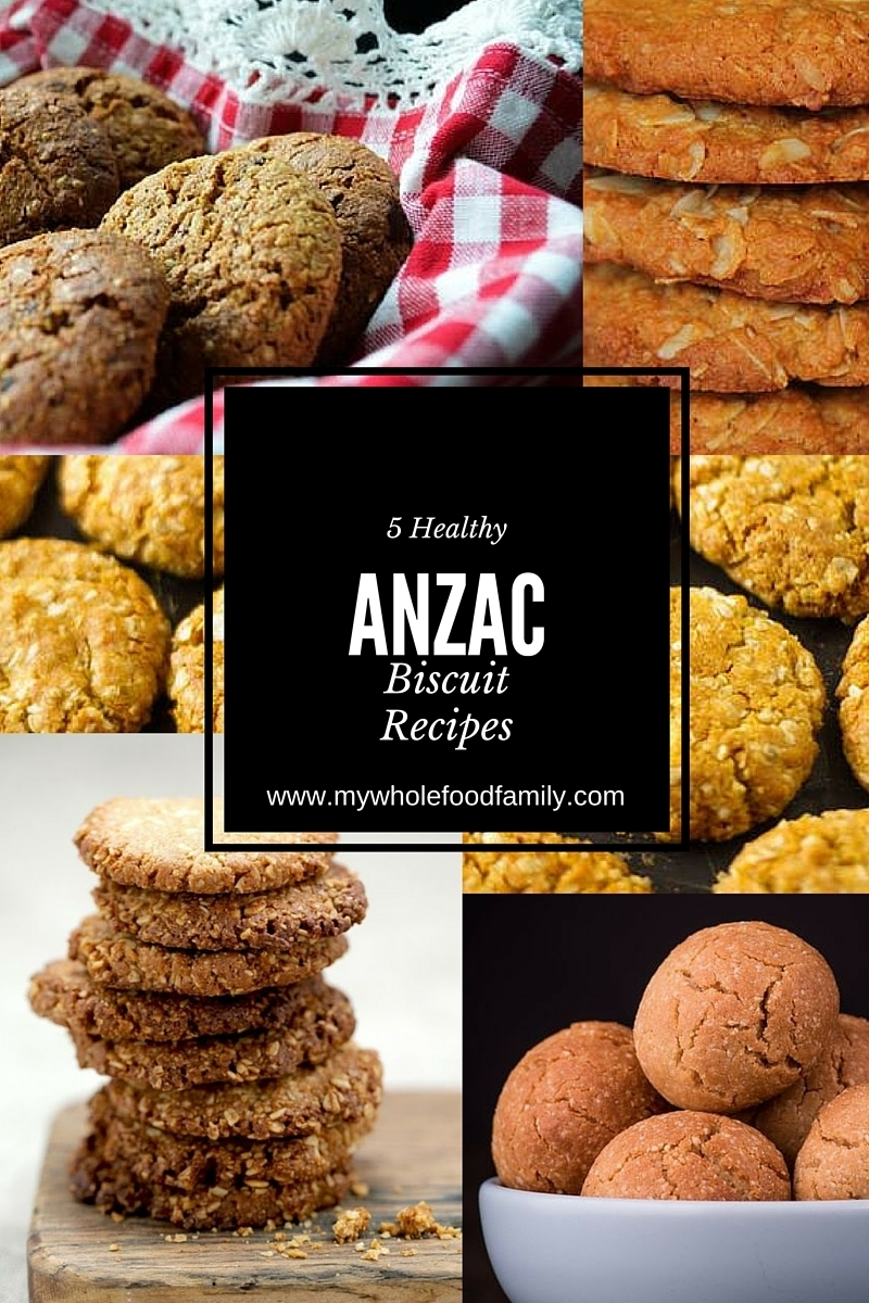 5 Healthy Anzac Biscuit Recipes