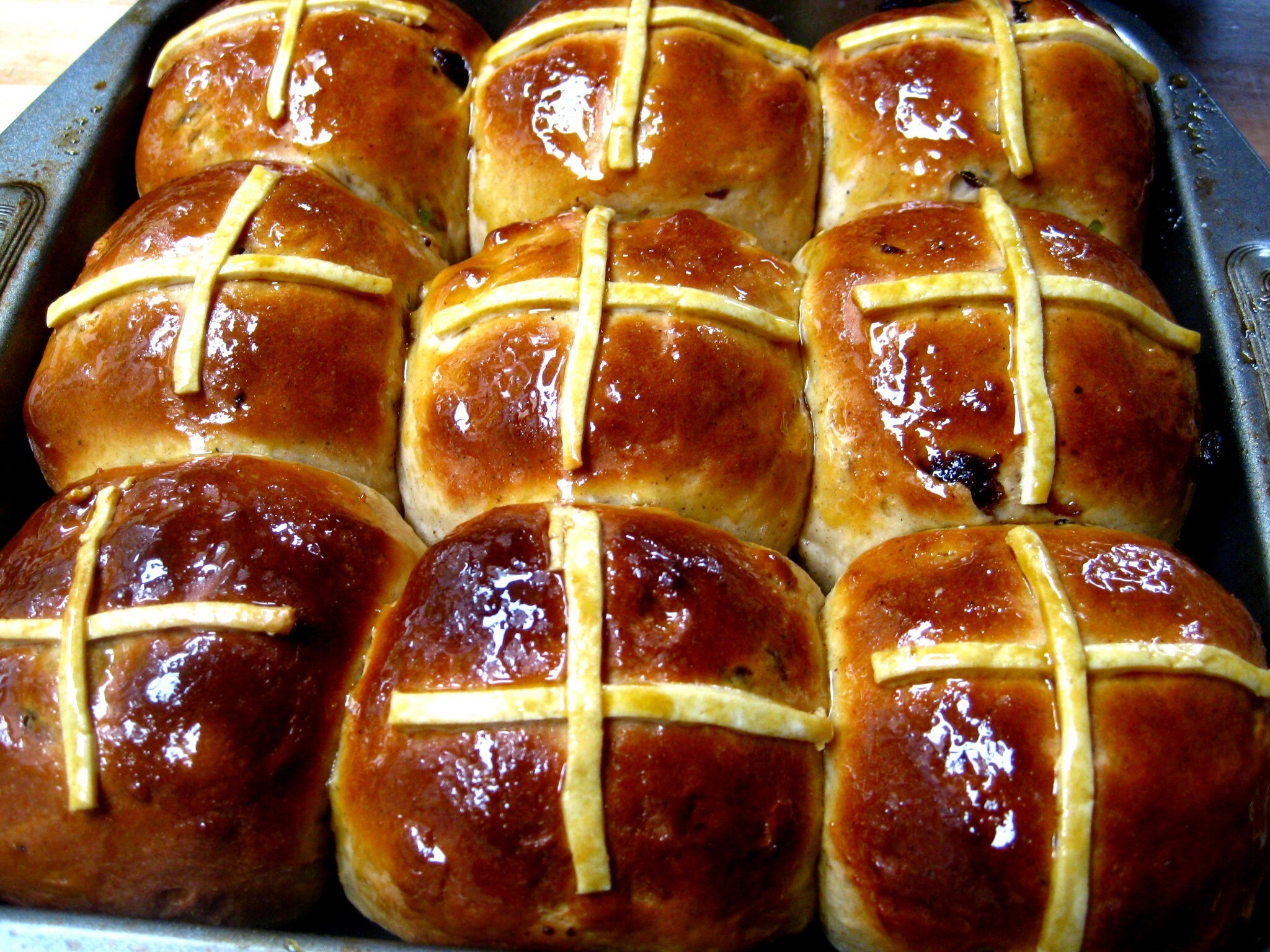Hot cross buns: the recipe!