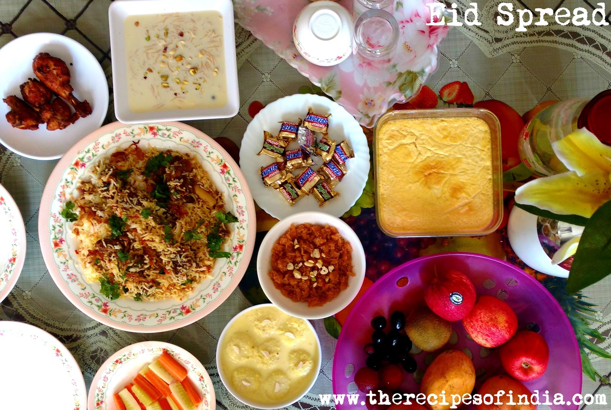 An Eid Menu at My Home | Eid in India