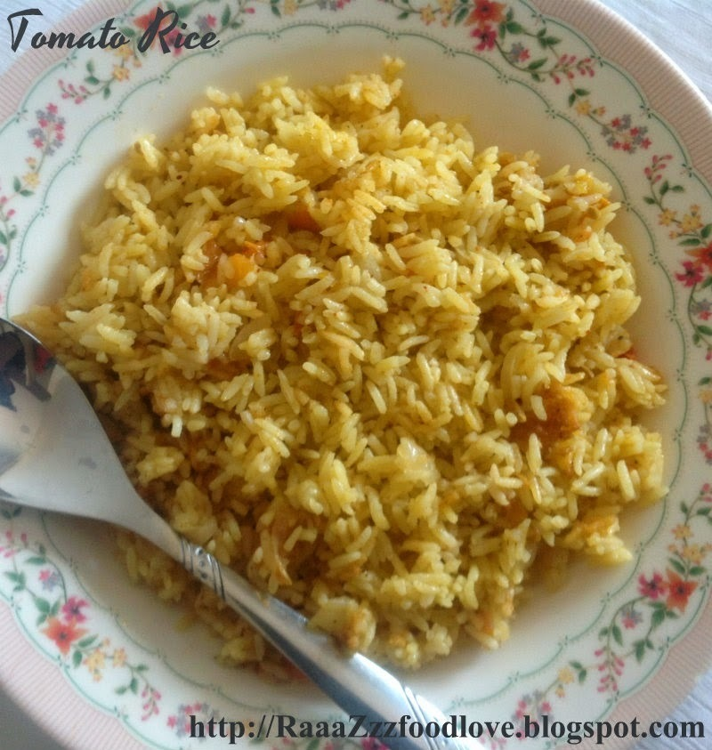 Tomato Rice Recipe | How to Make Tomato Rice