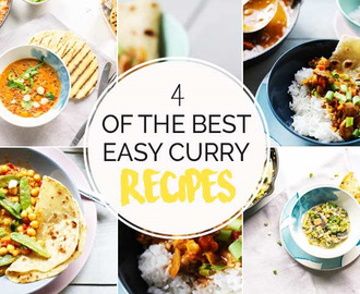 4 easy curry recipes