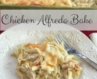 Chicken Alfredo Bake + Enter To Win A Trip To Napa Valley