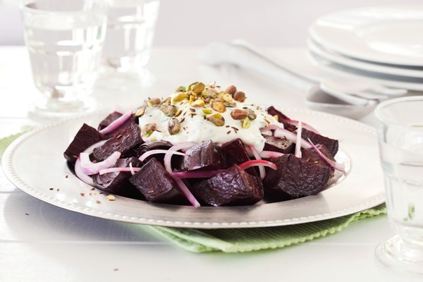 Beetroot Yoghurt Salad
