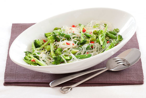 Asian style Green Salad